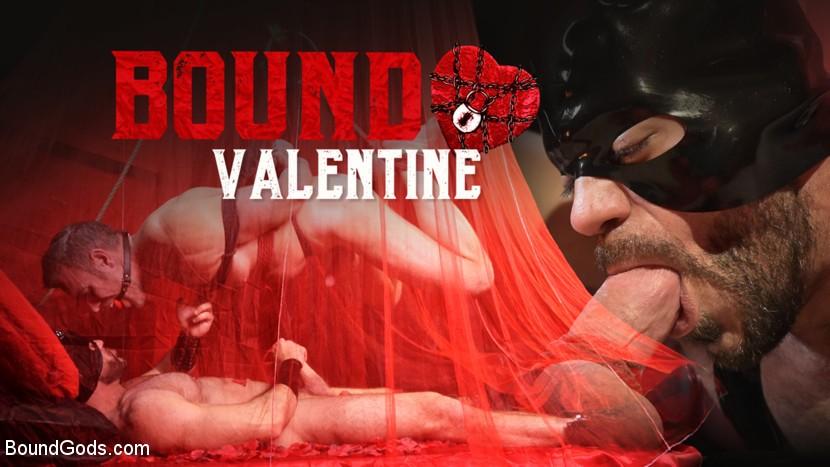 BoundGods - Bound Valentine - Alex Mecum Covered In Wax, Suspended, Pumped, Fucked