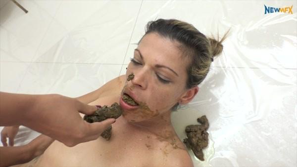 Feeding my slave Diana, Alana - MF-7229 (FullHD 1080p)