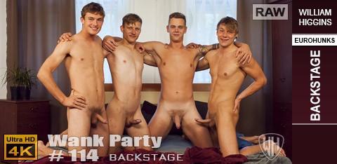 Williamhiggins - Wank Party #114 Raw - Backstage