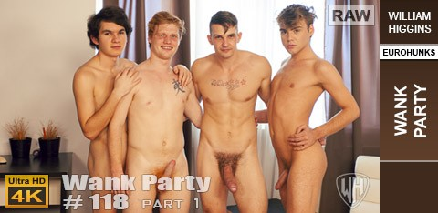 WilliamHiggins - Wank Party #118 Part 1 - Ivan Zrzek, Karel Konrad, Mojzis Kral, Mojzis Kral