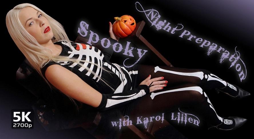 Spooky Night Preparation, Karol Lilien, October 26, 2018, 3d vr porno, HQ 1920