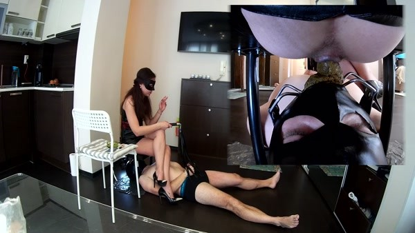 Mistress Anna - Toilet slave in Germany (FullHD 1080p)