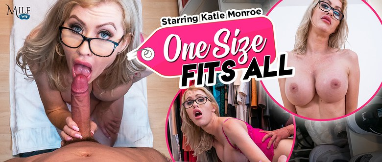 One Size Fits All, Katie Monroe, 21 November, 2019, 3d vr porno, HQ 2300