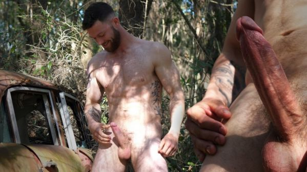 TheGuySite - Josh - Bearded Man with a Big Veined Dick