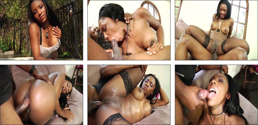 Porn's Top Black Models #3, Scene 2