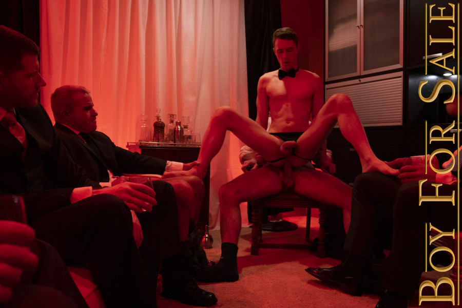 BoyForSale - Boy Cole - Chapter 5 - Auction Party Favor - The Buyers Night