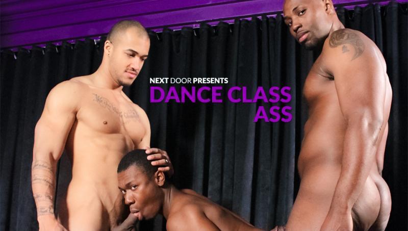 NextDoorEbony - Dance Class Ass - Nubius, Kiern Duecan & Damian Brooks