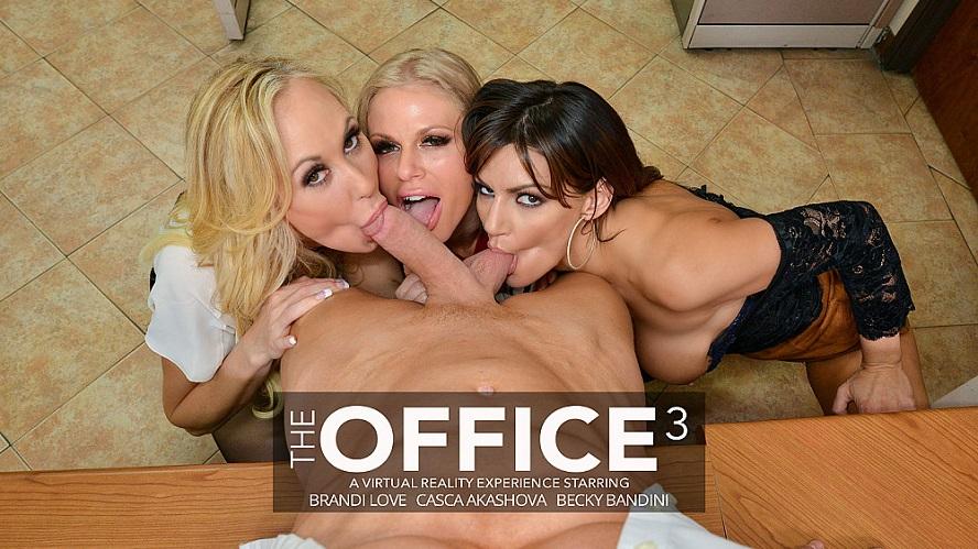 The Office 3, Becky Bandini, Brandi Love, Casca Akashova, February 28, 2020, 3d vr porno, HQ 2048