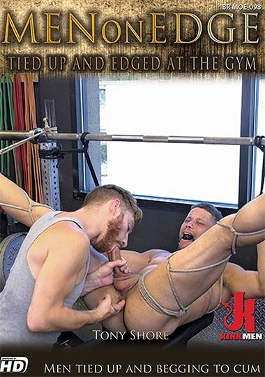 KinkMen - MenOnEdge - Tied Up and Edged at the Gym