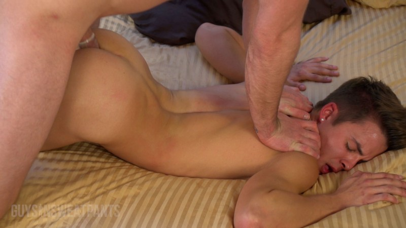 GuysInSweatPants - Andy Taylor & Jay Rising - Andy�s double cumshot