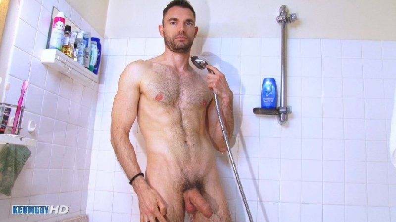 KeumGay - Marc Wanked in the Shower part 2 of 3