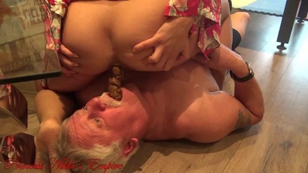 Princess Nikki - Stepdaddy eats my shit! (FullHD 1080p)