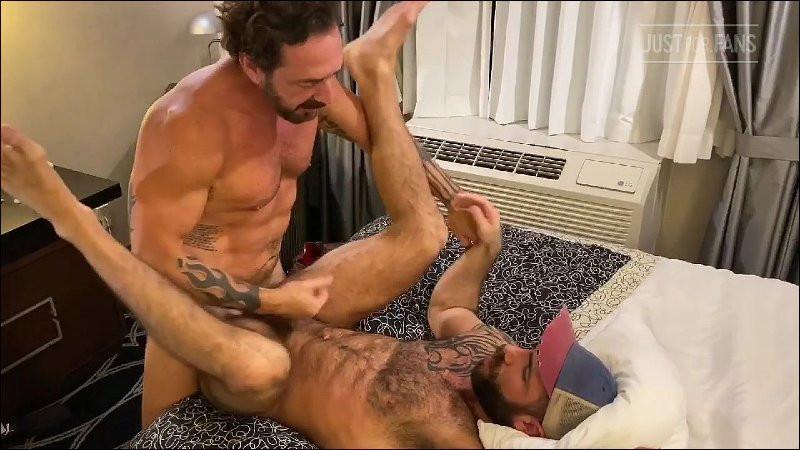 JustForFans - Jake Nicola, Vince Parker and August Alexander - 3 Way Flip Fuck