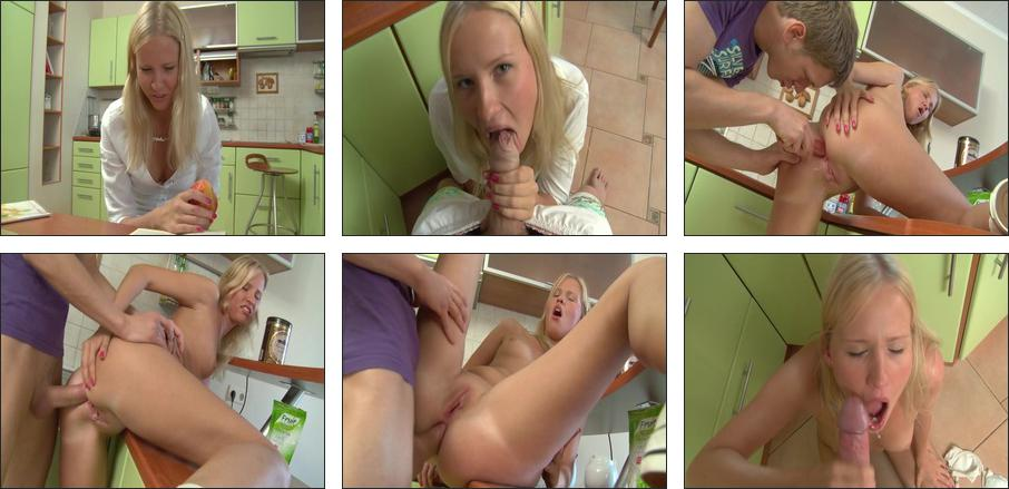 Russian School Girls Anal Lessons #4, Scene 3