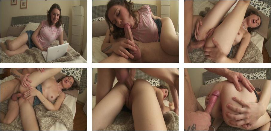 Russian School Girls Anal Lessons #4, Scene 1