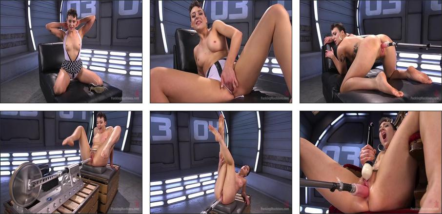 Tall and Fit Sex Kitten Has Mind Blowing Orgasms from Our Machines, Scene 1