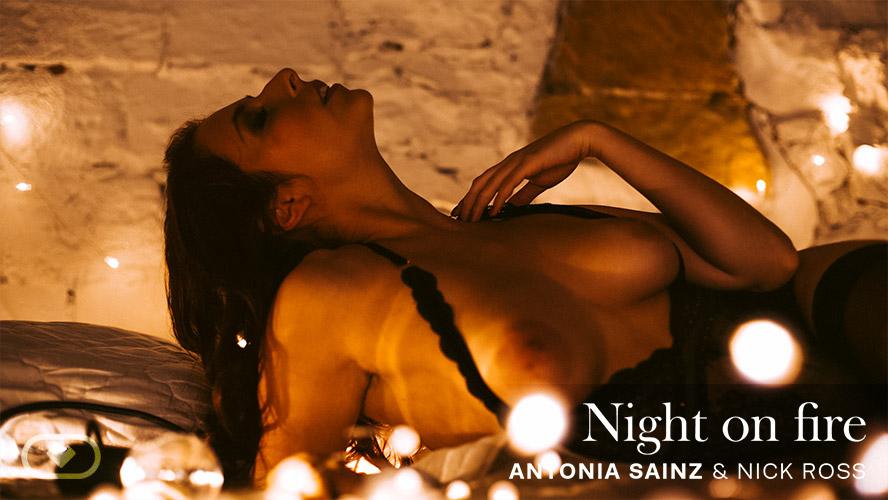 Night on Fire, Antonia Sainz, Mar 06, 2020, 5k 3d vr porno, HQ 2700