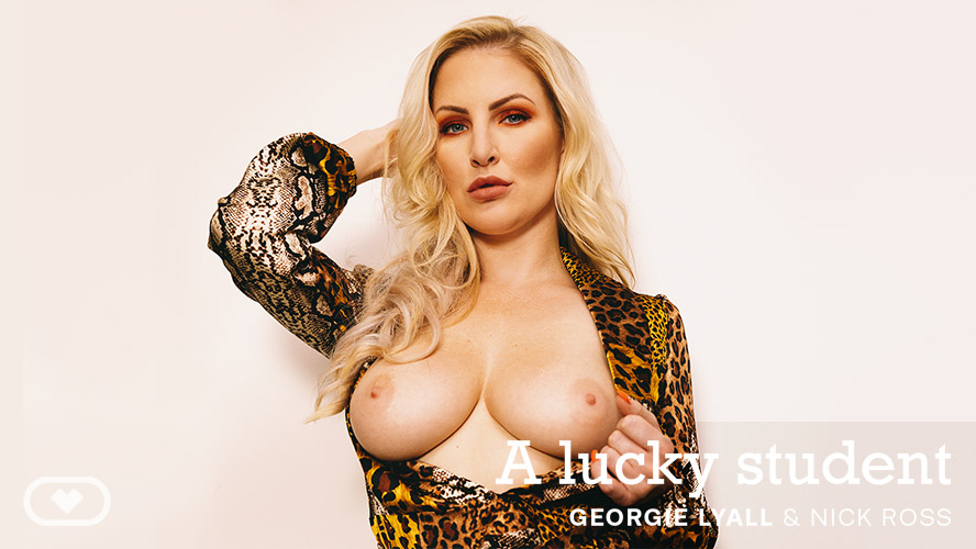 A lucky student, Georgie Lyall, Jan 12, 2020, 5k 3d vr porno, HQ 2700