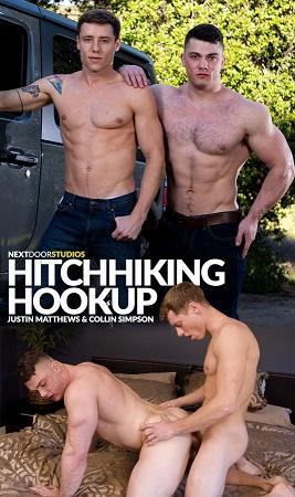 NextDoorOriginals - Justin Matthews & Collin Simpson - Hitchhiking Hookup