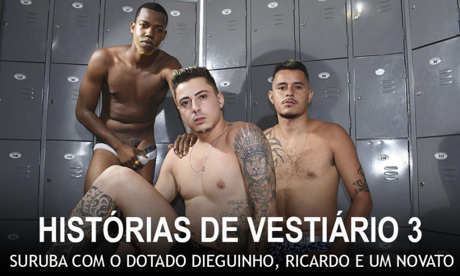 MundoMais - Dieguinho, Ricardo Mineiro, Henrique Tatuado - Historias de Vestiario 3