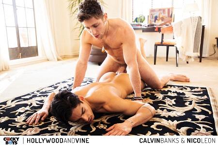 CockyBoys - Hollywood & Vine - Nico Leon & Calvin Banks
