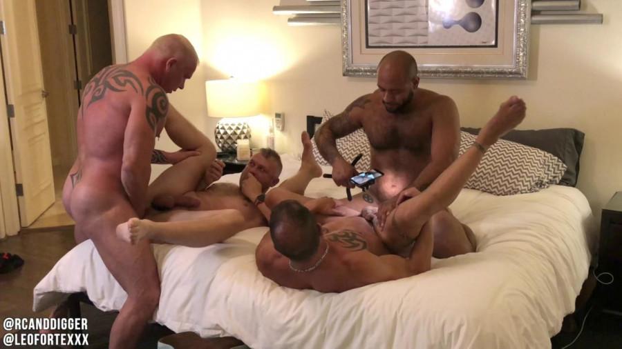 RawFuckClub - RCandDigger, Leo Forte, JD, Ryan Carter - Leos Pride - Pt 1