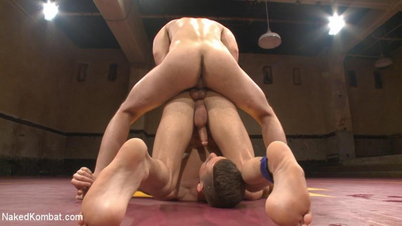 NakedKombat - Dylan Strokes v Kyle Kash - Battle of the Fat Cocks