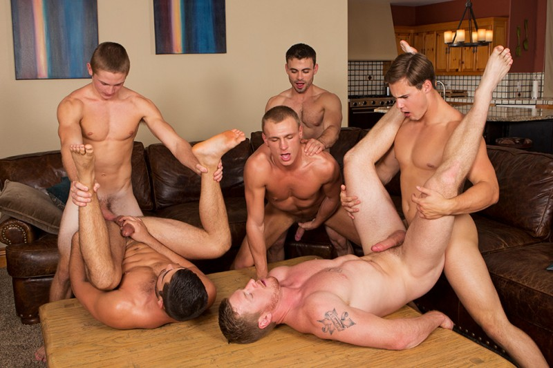 SeanCody - SC1705 - David, Tanner, Bryce, Andy & Coleman - Mountain Getaway - Day 4