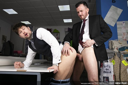 MenAtPlay - Drew Dixon & Franky Fox - The Tailor and Franky