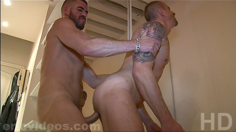 EricVideos - Kriss Gets Pounded & Filled up by Kieran The XXL Austrailian