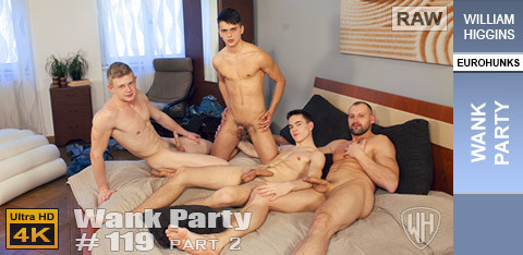 WilliamHiggins - Wank Party #119, Part 2 - WANK PARTY