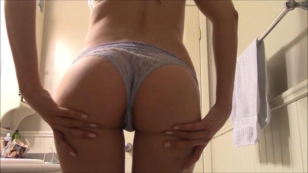 Tina Amazon - Blue Shirt Hard Shit (FullHD 1080p)