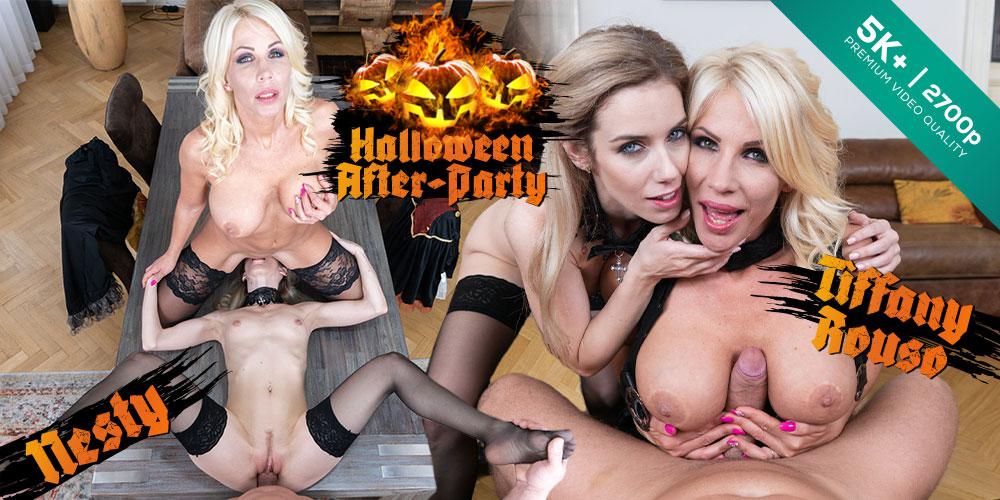 Halloween After-Party, Nesty, Tiffany Rouso, 02 Nov 2019, 5k 3d vr porno, HQ 2700