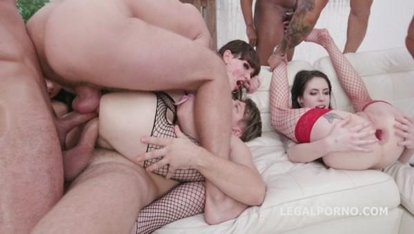 WTFucking XMAS 3 - Anna de Ville, Nicole Black, Sindy Rose Natalie Mars Orgy with DAP, TAP, Gapes - GIO1312 (SD 480p)