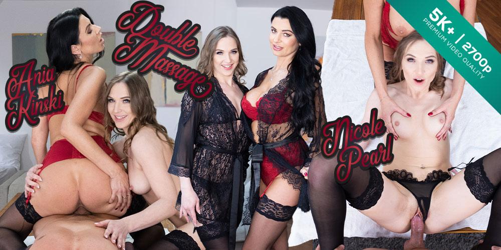 Double Massage, Ania Kinski, Nicole Pearl, 04 Apr 2020, 5k 3d vr porno, HQ 2700