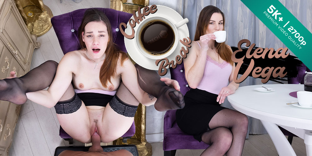 Coffee Break, Elena Vega, 21 Mar 2020, 5k 3d vr porno, HQ 2700