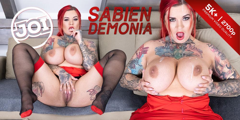 Jerk-off to her Tits, Sabien DeMonia, 11 Nov 2019, 5k 3d vr porno, HQ 2700