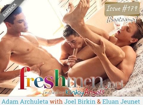 FreshMen - Issue #179 Boot Camp - Adam Archuleta with Joel Birkin, Eluan Jeunet