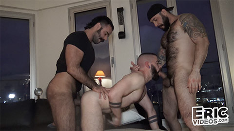 EricVideos - Guillem, Julian Torres, Teddy Torres - Teddy called to the rescue to fuck