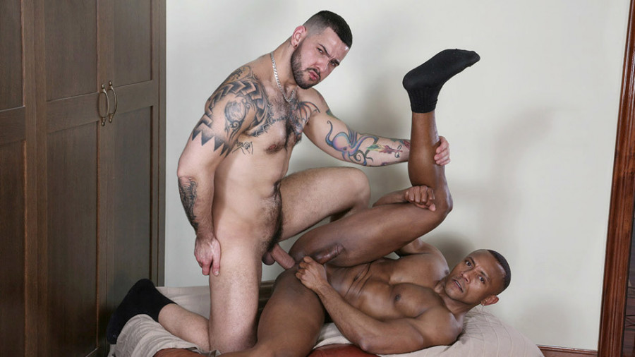 KristenBjorn - Casting Couch #430 - Aaron Caban & Santi Sexy