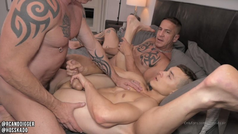 OnlyFans - Hoss Kado and RCandDigger - Connected La Daddy Fuck