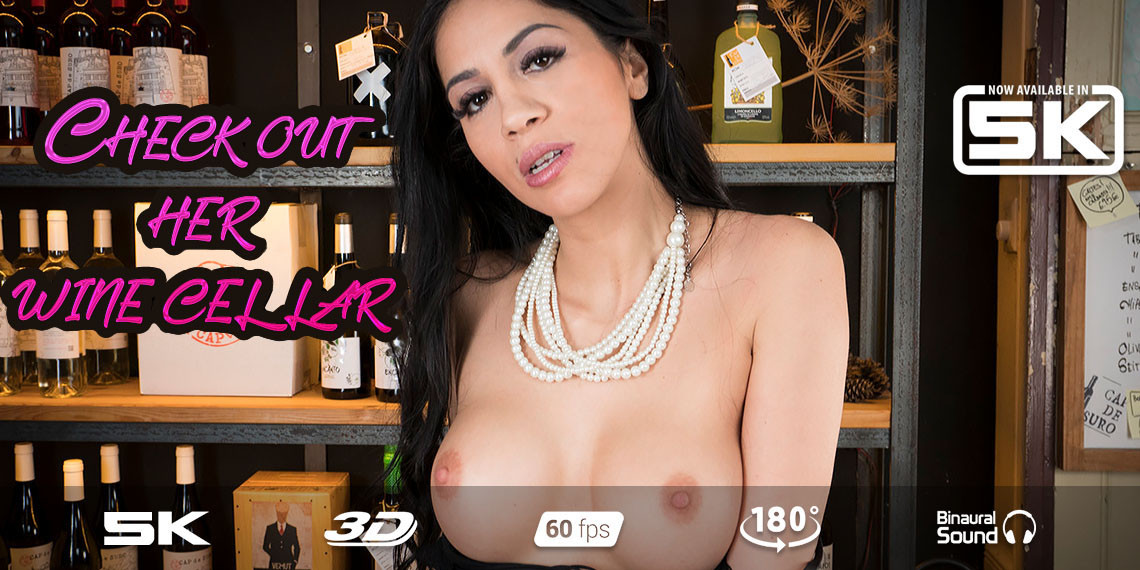 Rendezvous with Sommelier, Julia De Lucia, Feb 26, 2020, 5k 3d vr porno, HQ 2700