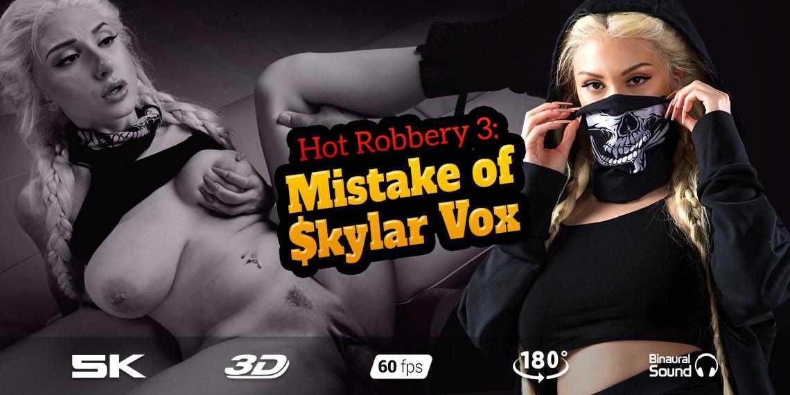 Hot Robbery 3: Mistake of $kylar Vox, Skylar Vox, Mar 12, 2020, 5k 3d vr porno, HQ 2700