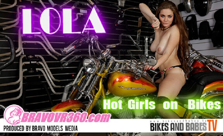 Lola Has Some Naked Fun in the Garage, Lola 2, Apr 08, 2017, 3d vr porno, HQ 1920