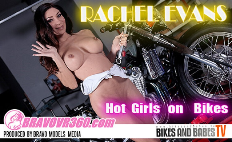 Rachel Gets Naked While Cleaning Her Motorcycle, Rachel Evans, Apr 18, 2017, 3d vr porno, HQ 1920