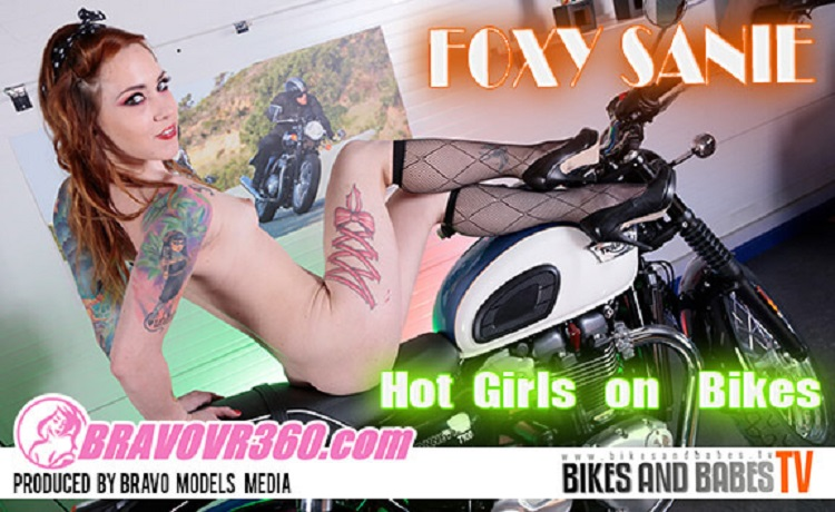 Foxy Gets Naked While Buying a Motorcycle, Foxy Sanie, May 18, 2017, 3d vr porno, HQ 1920