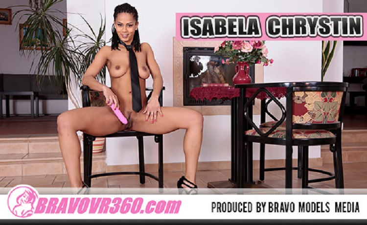 Exotic Hottie Drills Herself with Her Toy, Isabella Chrystin, Jun 12, 2017, 3d vr porno, HQ 1920