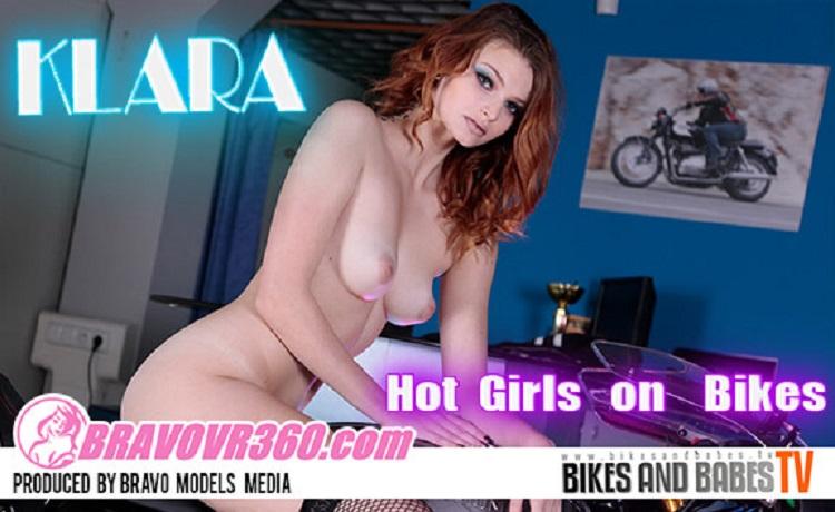 Leggy Redhead Klara Gets Naked with Her Bike, Klara, May 23, 2017, 3d vr porno, HQ 1920