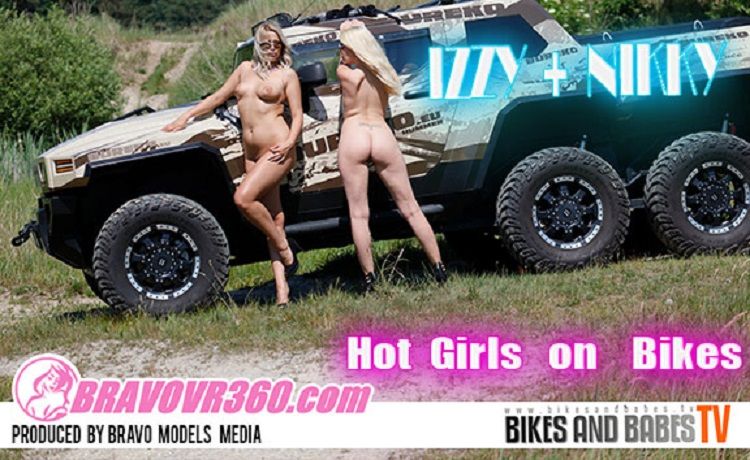 Two Hot Girls Strip Together During an Off-Road Trip, Nikky Dream, Jenny Anne, Jun 27, 2017, 3d vr porno, HQ 1024