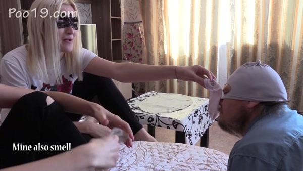 Christina, Victoria - Shawarma stuffed with girls' shit (2020 / FullHD 1080p)
